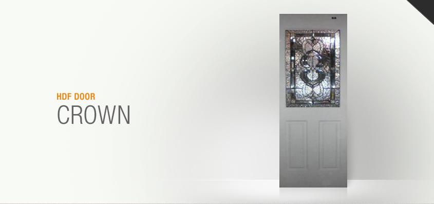 Excellent Door Pintu hdf Crown