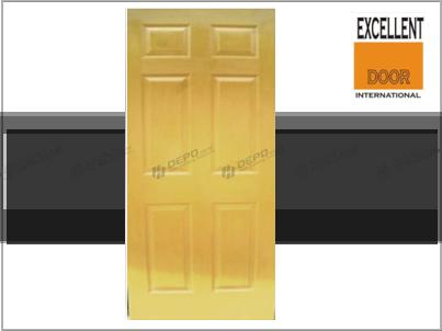 Excellent Door Pintu hdf 6 panel